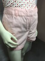 "Ann Taylor Loft 12 Pink Peach Women's Shorts 4"" Inseam"