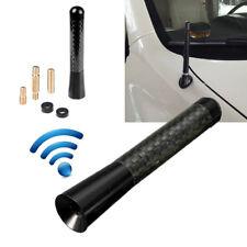 """8cm/3"""" Universal Car Carbon Fiber Aluminum Screw Radio Short Antenna Aerial"""