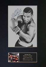 MIKE TYSON - MEMORABILIA - Collectors Signed Photo + FREE SHIPPING WORLDWIDE