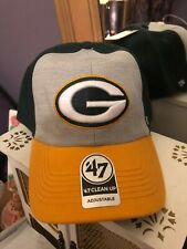 Green Bay Packers 47 Brand Adjustable Hat Cap NFL NEW