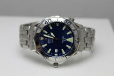 Omega Seamaster Pro 300M SMP Electric Blue 41mm Full Size Auto Mens Watch