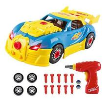 Toys for 3 year olds Boys  4 year old Boy Gifts,CrossRace Take Apart Toy Car Ra
