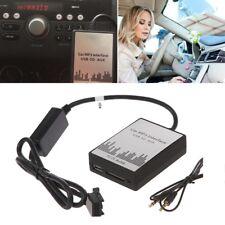 USB SD AUX Car MP3 Music CD Changer Adapter For Peugeot 407 307 Citroen C4 C5