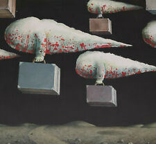 Signiert V. Parloff datiert 1978 - Surreal Fliegende Koffer