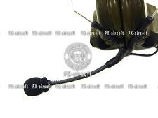 Boom Microphone Foam for Peltor Comtac II III IV Headset(TRI PRC 152 148 Mbitr)