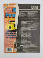 Car Craft Magazine Street Freaks No 4 1980 Cruisin USA Chevy Mopar Ford Pontiac