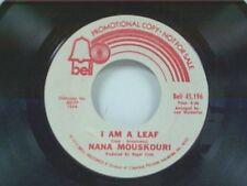 """NANA MOUSKOURI """"I AM A LEAF / FOUR AND TWENTY HOURS"""" 45 MINT PROMO"""