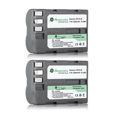 2x EN-EL3e Battery for MB-D80 MB-D10 BG-E2N MB-D200 MB-D100 Battery Grip ENEL3e