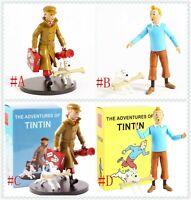 The Adventures of Tintin Tintin Milou PVC Action Figure statue