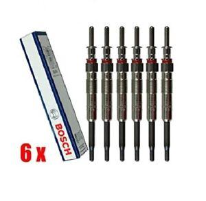 6x OEM BOSCH Glow Plugs Set 0250603009 80045 BMW E90 335d '09-11 E70 X5 '09-13