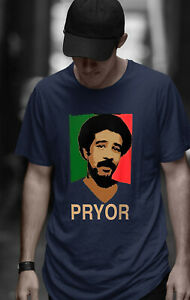 Richard Pryor T Shirt Comedy Actor Vintage Retro Shirt Classic Fit Cotton S-5XL