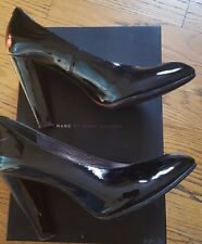 Excellent Marc by Marc Jacobs Black Patent Leather Pumps Women's Sz 39.5/ US 9.5