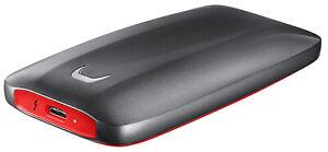 Samsung MU-PB1T0B/EU Portable SSD X5 1 TB Thunderbolt 3 Externe SSD Schwarz