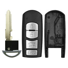 Mazda 3 6 Remote Smart Prox Key Shell Housing Replacement Case Cover 4 Button