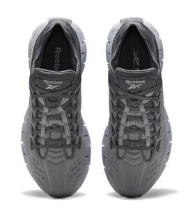 Reebok Men Zig Kinetica Training Sneaker True Grey/Pure Grey Size 11.5 MSRP $120