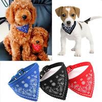 Adjustable Pet Dog Puppy Cat Neck Scarf Fashion Bandana Collar Neckerchief