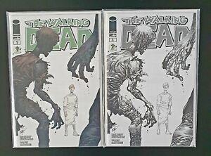 The Walking Dead Comic #1 Emerald City Comic Con Exclusive Variants RARE!!