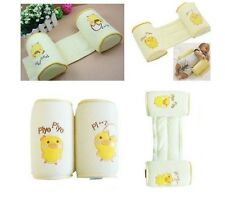Baby Infant Safe Sleep Positioner Prevent Flat Head Shape Anti Roll Pillow