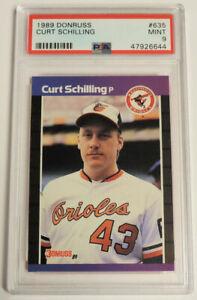 Curt Schilling 1989 Donruss #635 Rookie Card Mint PSA 9