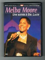 MELBA MOORE - UNE SOIRÉE À STE LUCIE - 2001 - DVD - TRÈS BON ÉTAT