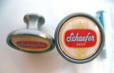 Schaefer Beer Cabinet Knobs, Schaefer Beer Logo Cabinet Knobs, Schaefer Knobs