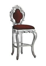 Hocker Barhocker Königlicher Polster Chesterfield Samt 1 Sitzer Antik Stil Stuhl
