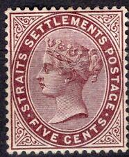 STRAITS SETTLEMENTS 1882 STAMP Sc. # 38 MNH