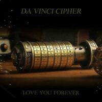 Leonardo da Vinci code toy Metal Cryptex locks wedding Hot Day gifts U6Z6