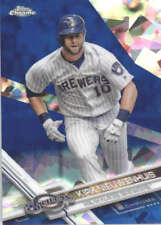 KIRK NIEUWENHUIS 2017 TOPPS CHROME SAPPHIRE EDITION #588 ONLY 250 MADE