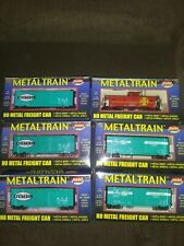 HO Scale Metal Train Freight Cars Lot