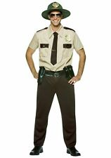 Rasta Imposta State Super Trooper Tan Adult Men's Halloween Costume Standard