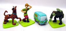 Vintage 1990s Scooby Doo PVC Figure Set of 4 from Applause  (PVC-006-FW)