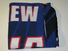 New York Giant NFL Football Throw Blanket