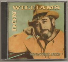 "DON WILLIAMS, CD ""GREATEST HITS"" NEW SEALED"