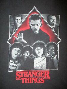 STRANGER THINGS T SHIRT Eleven Hopper Mike Dustin Will Lucas Steve ADULT SMALL