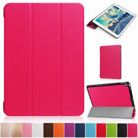For iPad 6th 5th Generation 9.7'' 2018 Smart Leather Case Shockproof Flip Cover