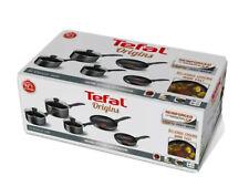 Tefal Non Stick Origins 5 Piece Set 2 x Frying Pans 3 x Pots / Saucepans & Lids