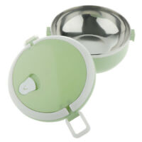 Stainless Steel Thermal Lunch Box Bento Lunchbox Insulated Food Container