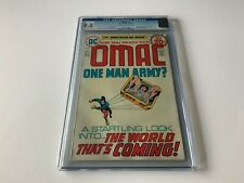 OMAC 1 CGC 9.4 ORIGIN AND 1ST APPEARANCE ATOMIC EXPLOSION PANEL DC COMICS 1974