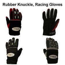Rubber Knuckle, Bike Motorcycle Pro-Biker Motorbike Racing Gloves