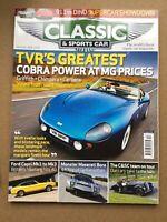 Classic & Sports Car Magazine - December 2009 - TVRs, Capri, Maserati Bora