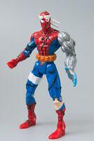 1996 ToyBiz Spider-Man Spider Wars CYBER SPIDER-MAN Action Figure | Free S&H !