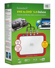 Honest Technology VHS to DVD 5.0 Deluxe (Retail) - Full Version for Windows 8063