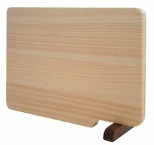 Wooden Cutting Board with Stand ese cypress Hinoki w/Tracking