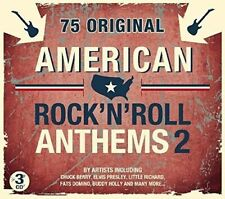 American Rock 'n' Roll Anthems 2 - 3 CD Set Chuck Berry Elvis Presley +Many More