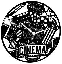 Orologio in Vinile da Parete Arte Poster Decorazione Casa Film Cult Movie Cinema