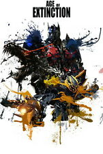 "048 Transformers 4 Age of Extinction - 2014 Hot Movie Film 14""x21"" Poster"