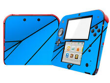 Blue geometry Vinyl Skin Sticker Decal Wrap For Nintendo 2DS Console