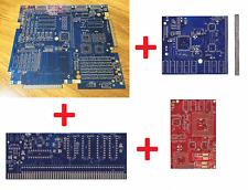 New Gold Plated 4x PCB GBA1000 Motherboard + GFX, CPU, USB Amiga 1000 Clone #615