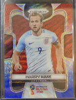 HARRY KANE 2018 PRIZM WORLD CUP FIFA SOCCER - ENGLAND RED BLUE PRIZM